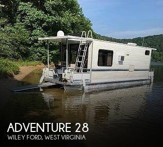 1996 Adventure Houseboat 28