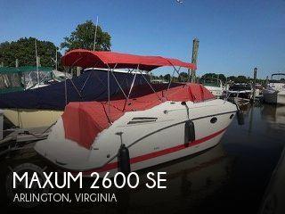 2006 Maxum 2600 SE