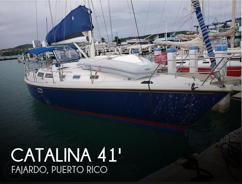 1992 Catalina 42 Wing Keel