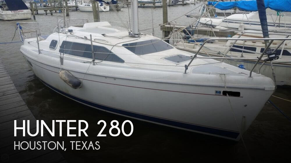 1996 Hunter 280
