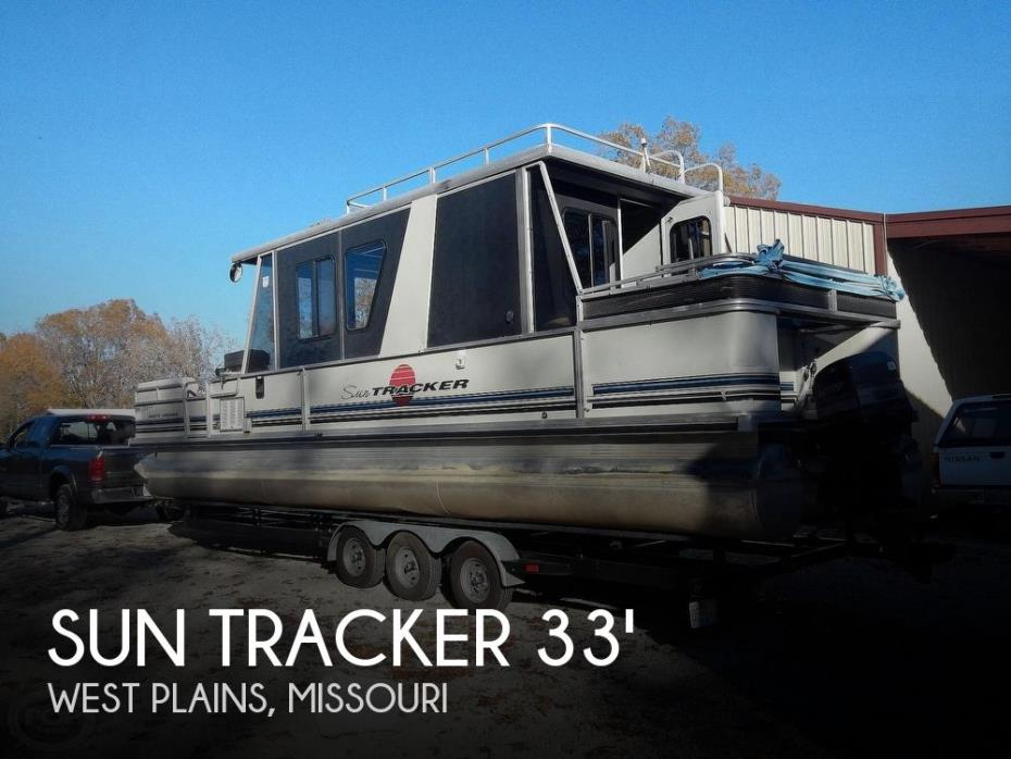 1993 Sun Tracker 32 Party Cruiser