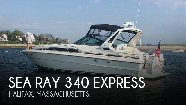 1989 Sea Ray 340 Express