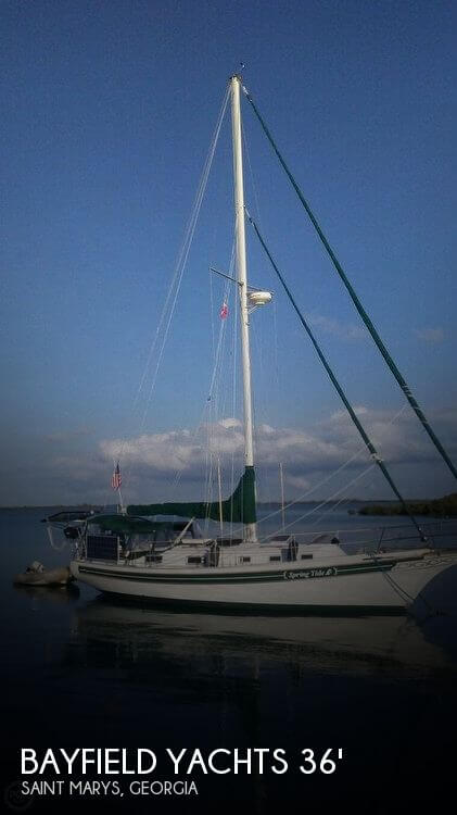 1987 Bayfield Yachts 36 Cutter