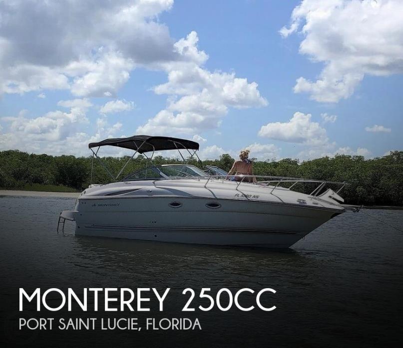 2008 Monterey 250 Sport Cruiser