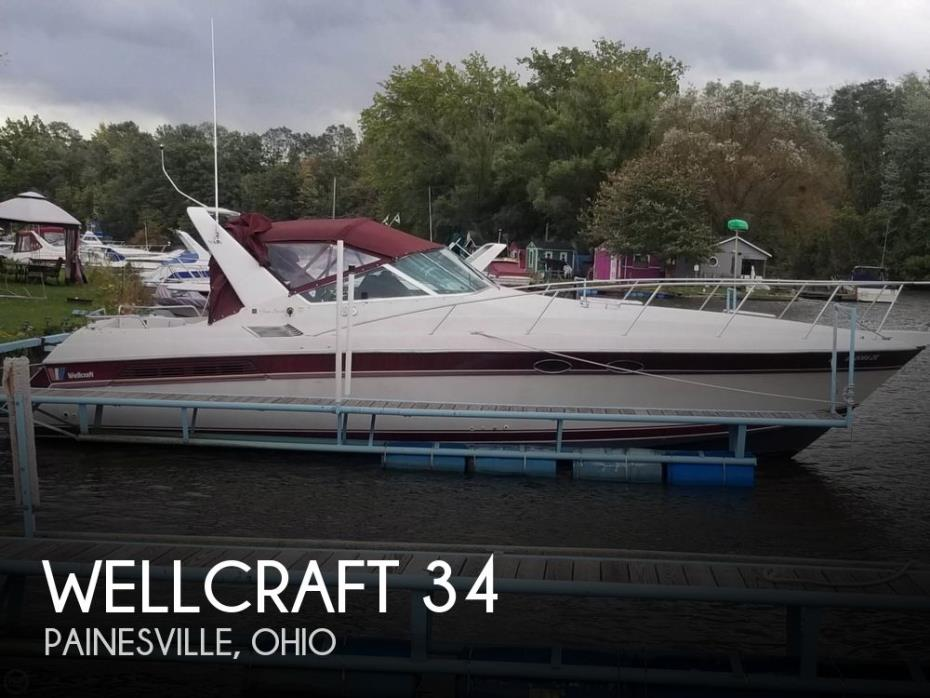 1989 Wellcraft 34