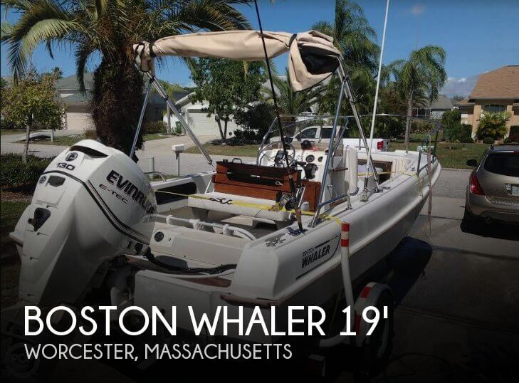 1973 Boston Whaler 19 Outrage