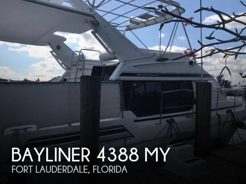 1991 Bayliner 4388 MY