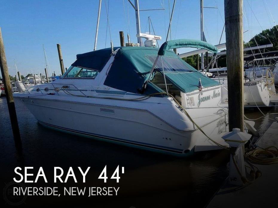 1994 Sea Ray 440 Sundancer 2010 Iveco 370s
