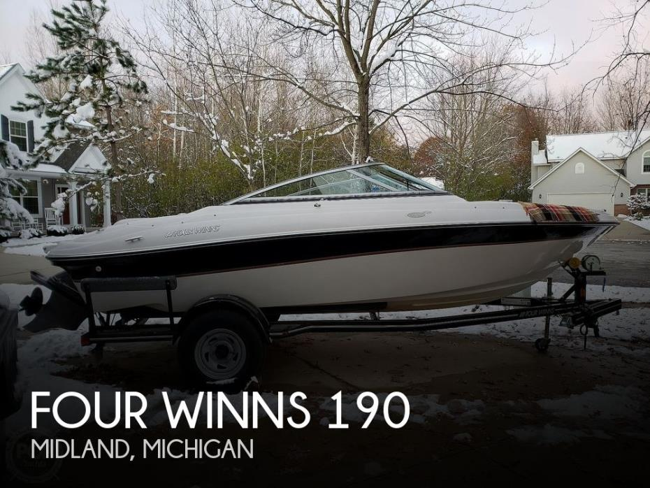 BOAT COVER FITS Four Winns Boats HORIZON 190SS H190 SS 2010 2011 2012