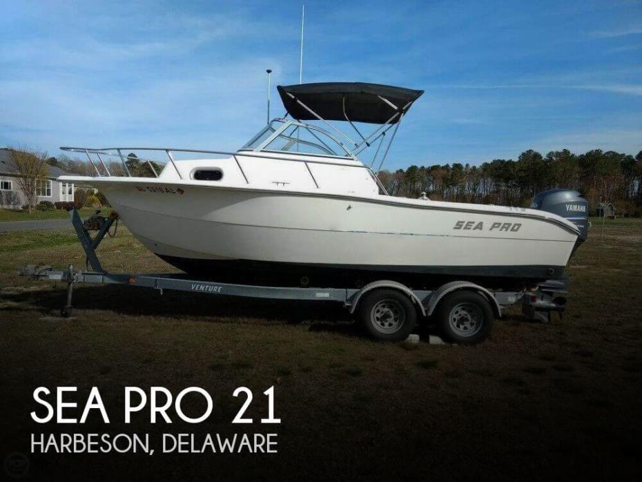 2004 Sea Pro 21 Walkaround