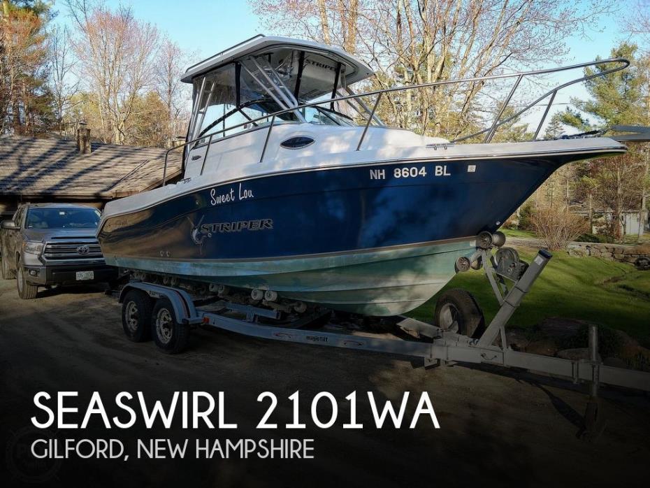 2006 Seaswirl 2101WA