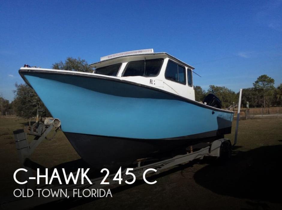 1989 C-Hawk 245 C