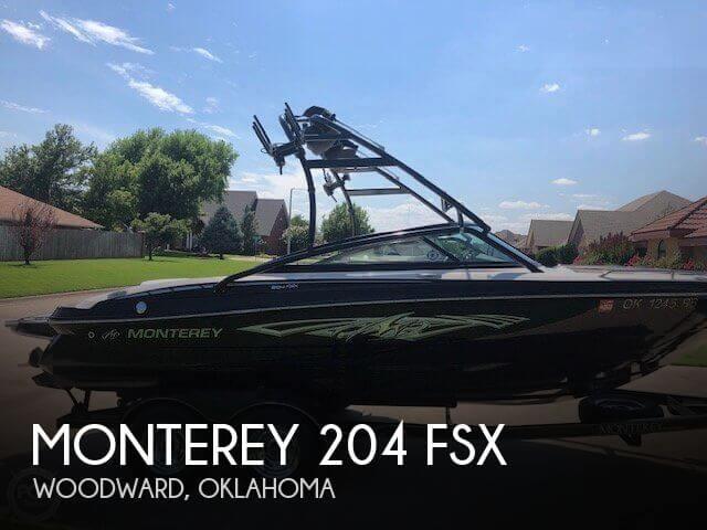 2013 Monterey 204 FSX