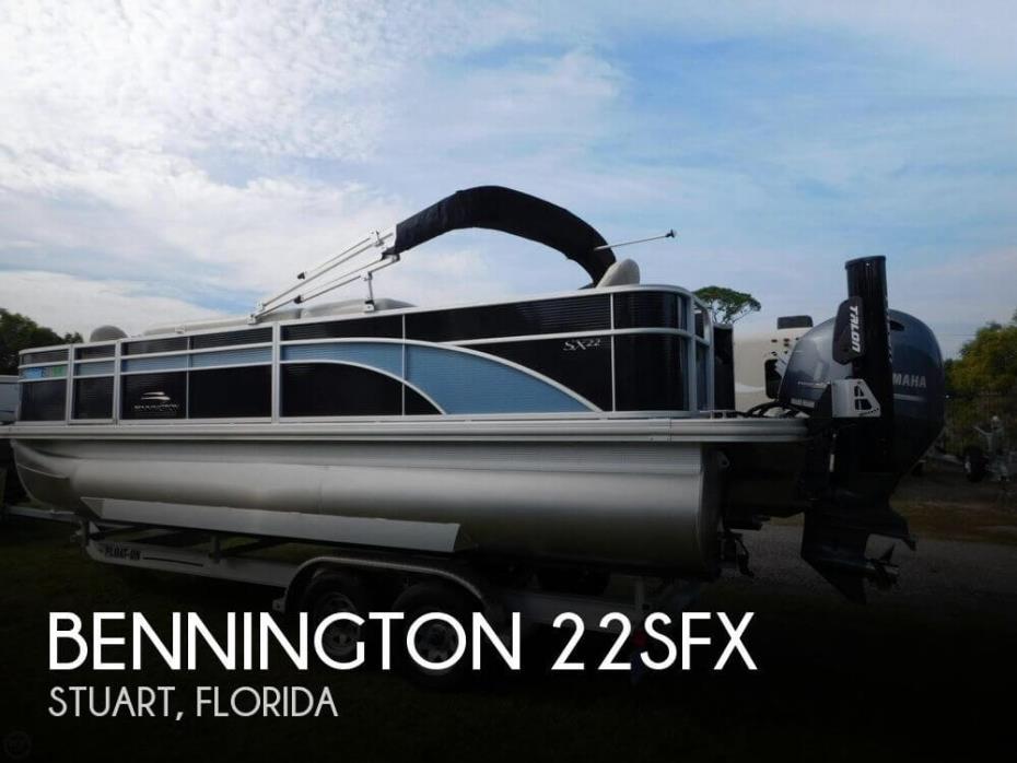 2017 Bennington 22SFX