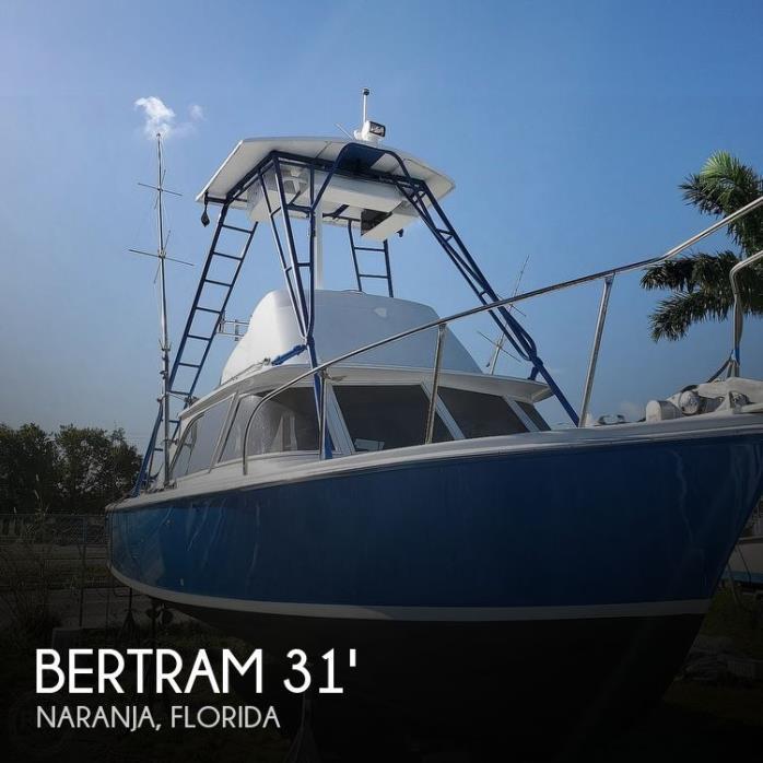 1961 Bertram 31 Sportfish