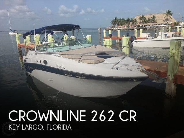 2003 Crownline 262 CR