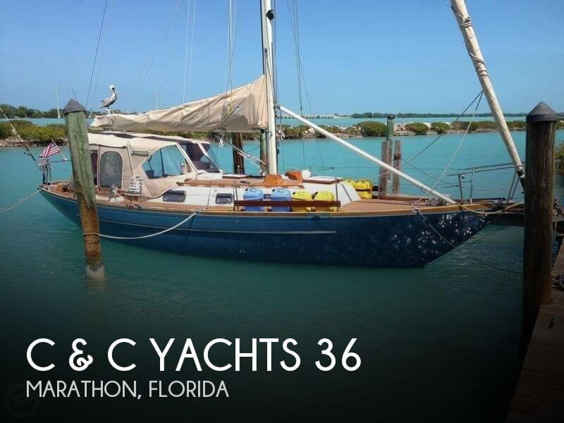 1969 C & C Yachts 36
