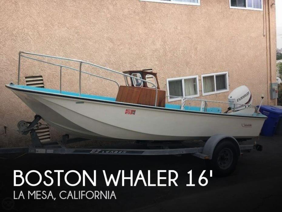 1972 Boston Whaler 16 Nauset