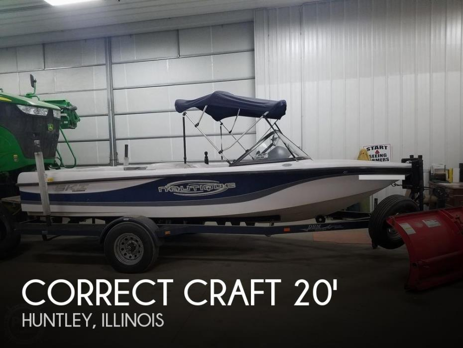 2002 Correct Craft 196 Ski Nautique