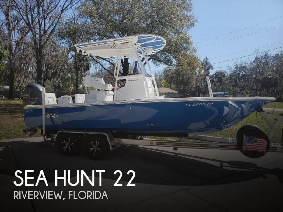 2017 Sea Hunt 22 RZR