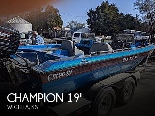 1995 Champion 190 Fish Hunter Elite