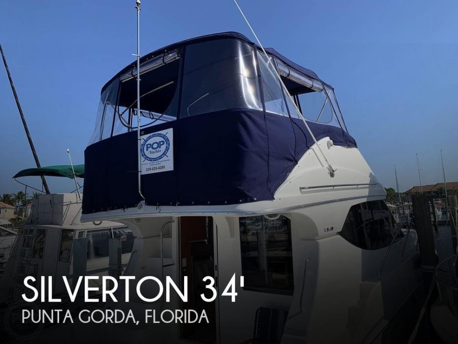 2006 Silverton 34 Convertible