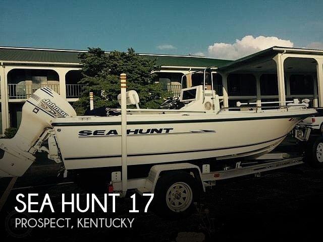 2002 Sea Hunt 17