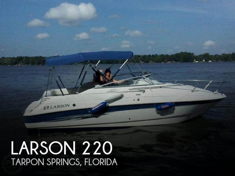 2000 Larson 220 Cabrio Sport