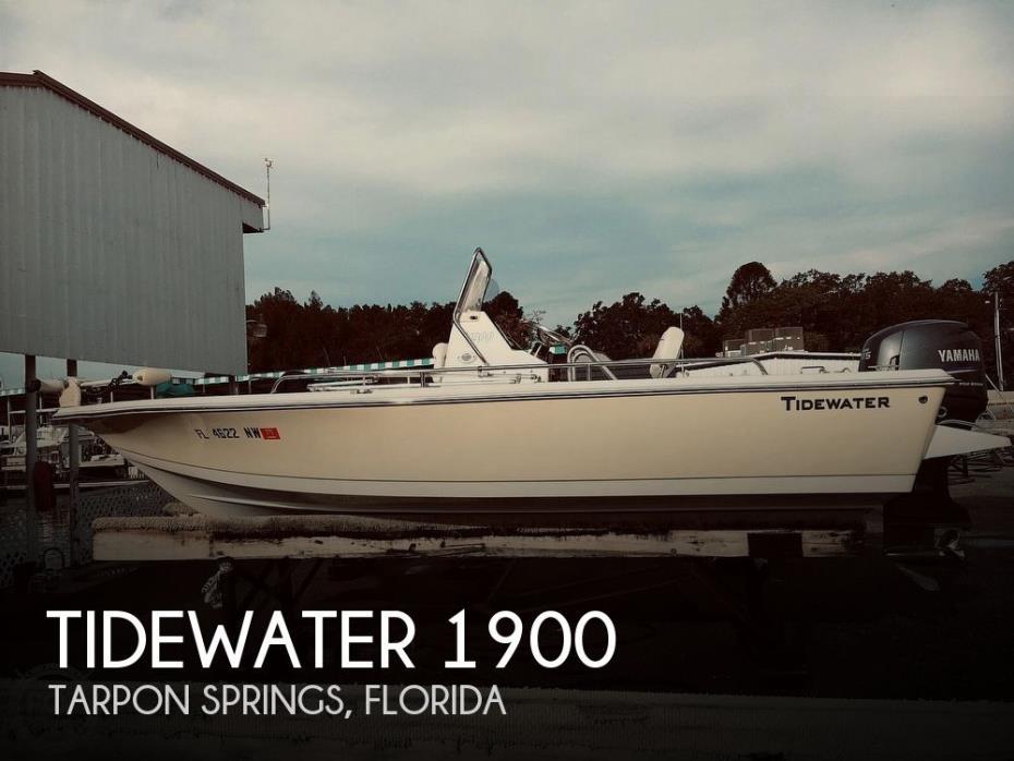2009 Tidewater 1900