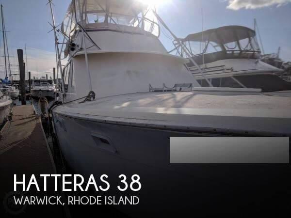 1968 Hatteras 38