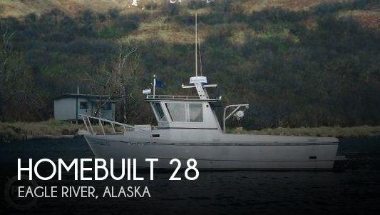 1990 Homebuilt 28 Commercial Quality Workboat