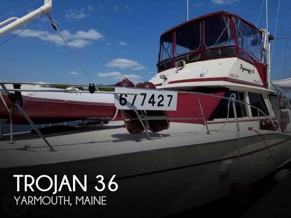 1984 Trojan 36 Convertible