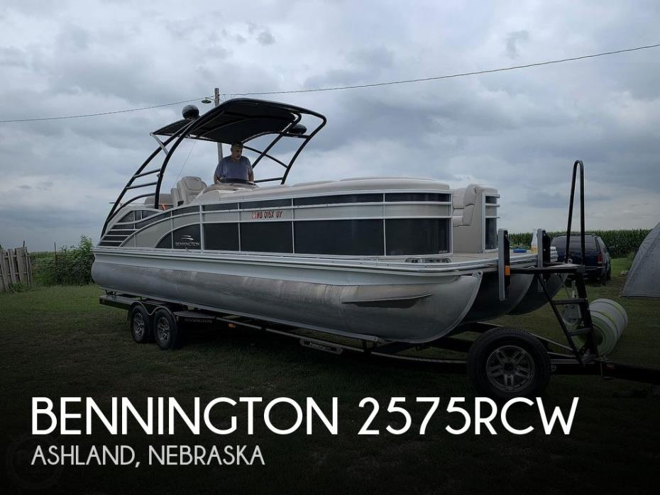 2013 Bennington 2575RCW Sport Tower
