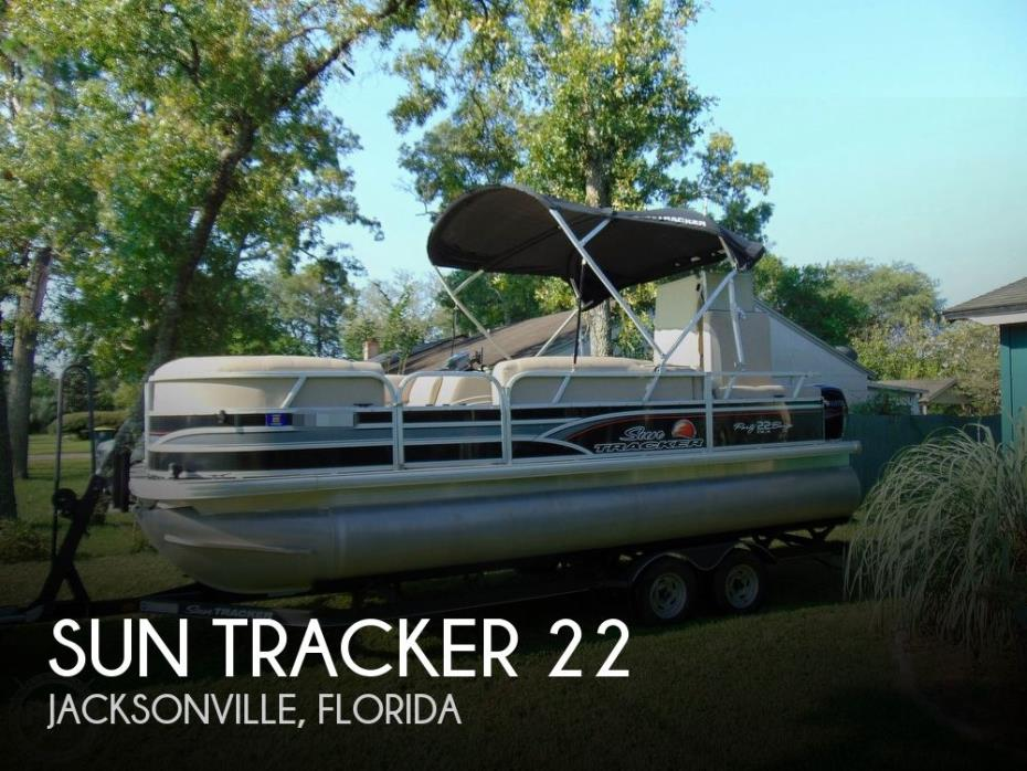 2015 Sun Tracker 22 DLX Party Barge