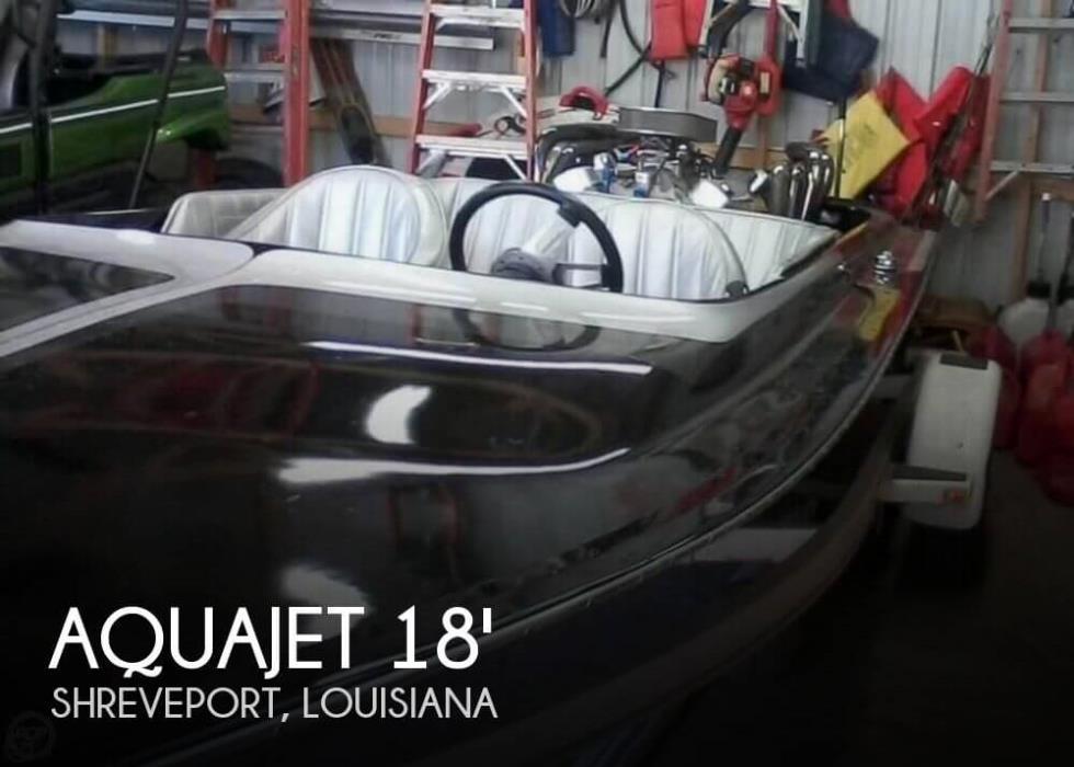 1978 Aquajet 18 Custom Jet Boat