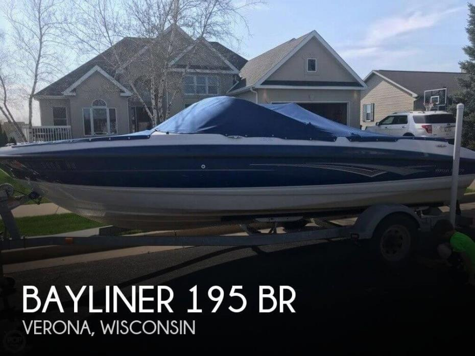 2010 Bayliner 195 BR
