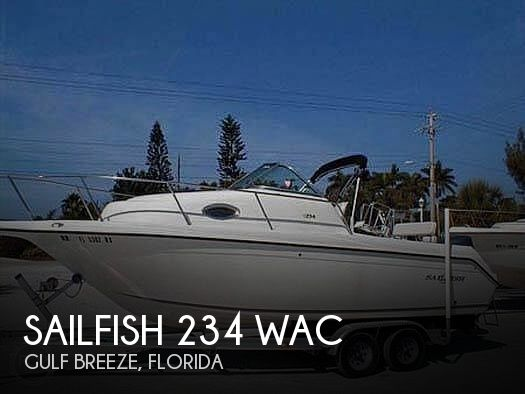 2003 Sailfish 234 WAC