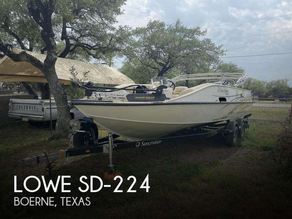 2011 Lowe SD-224