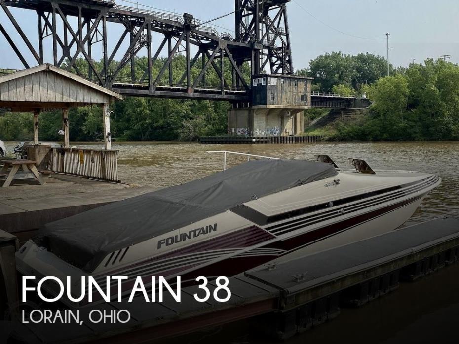 1996 Fountain 38 Sport Cruiser