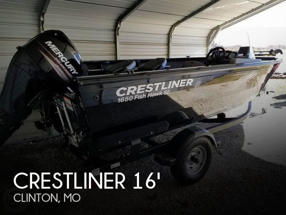 2019 Crestliner 1650 Fish Hawk SE