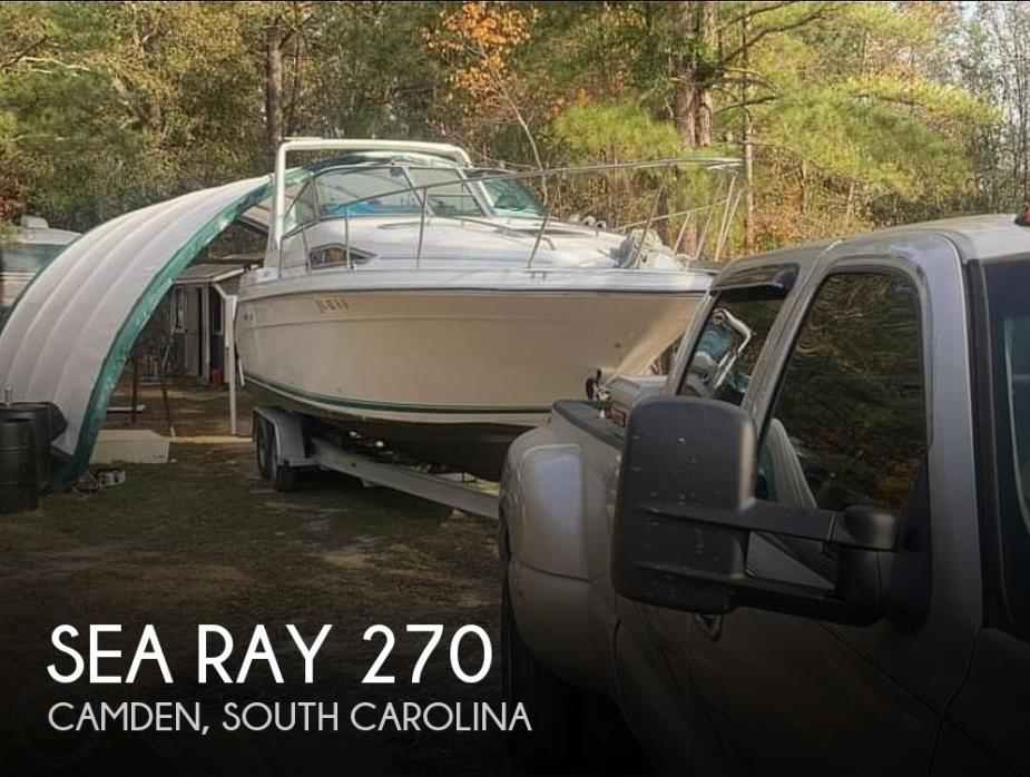 1991 Sea Ray Sundancer 270 DA