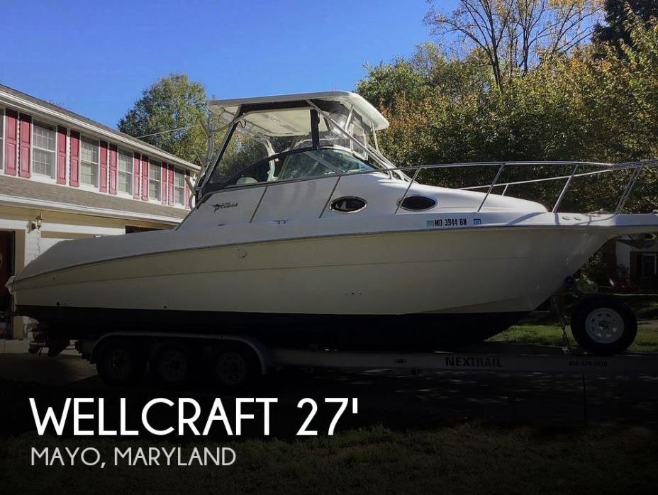 2001 Wellcraft 270 Coastal