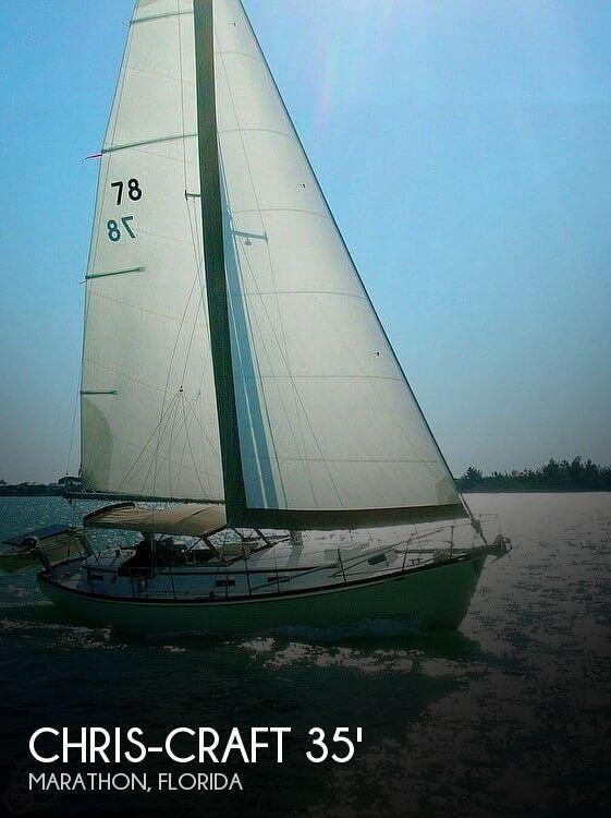 1965 Chris-Craft Sail Yacht #78