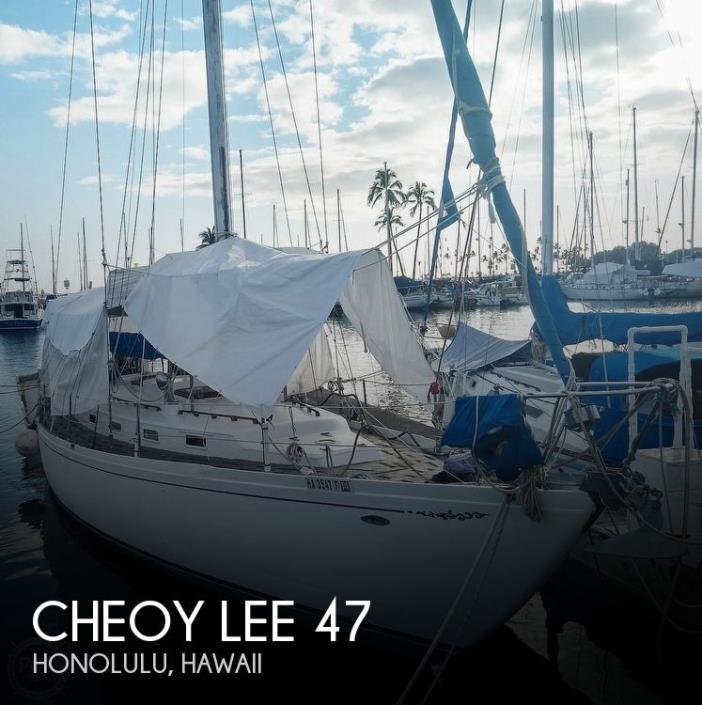 1974 Cheoy Lee 47 Offshore