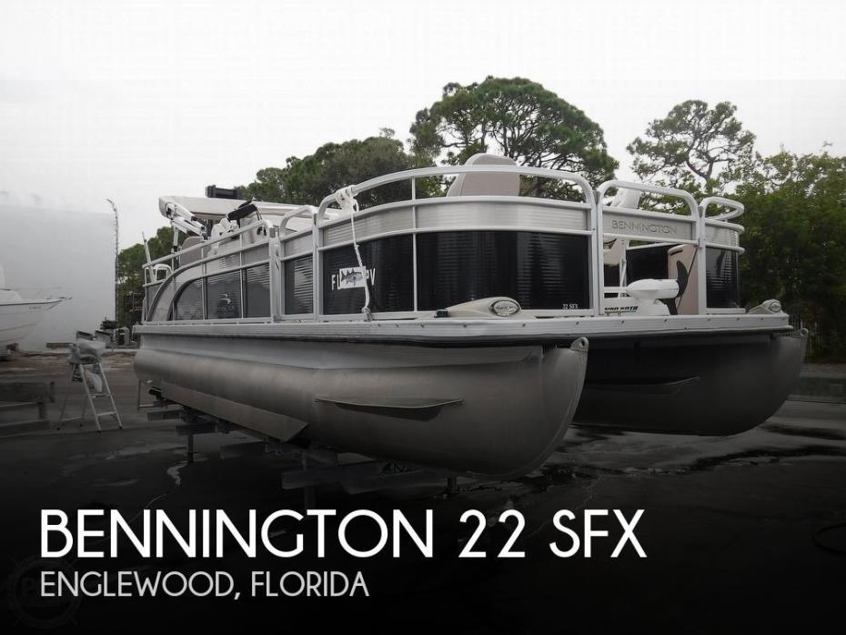 2014 Bennington 22 SFX