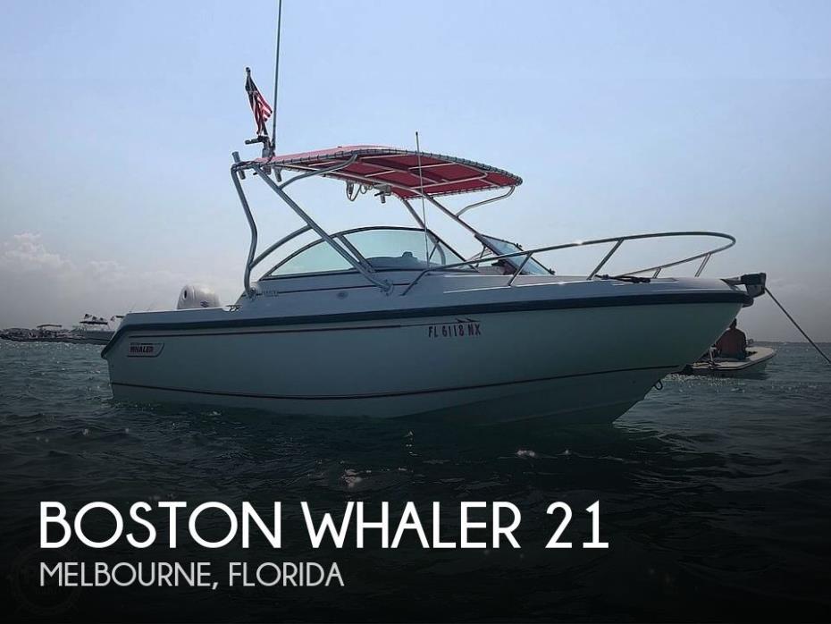 2000 Boston Whaler Ventura 21