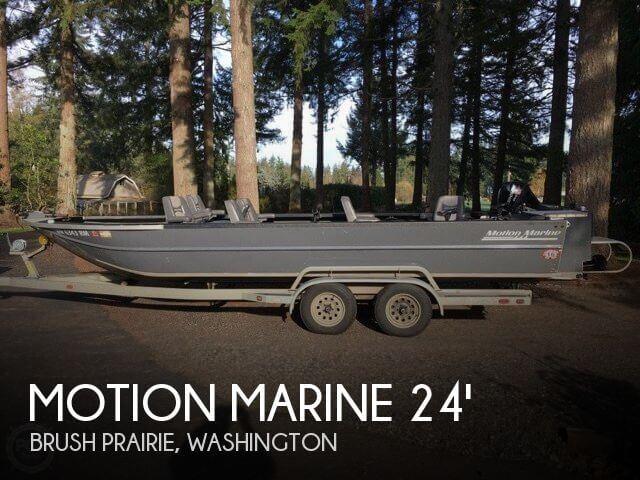 2001 Motion Marine Outback Fishing Machine