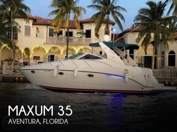2003 Maxum 3500 SCR Cruiser
