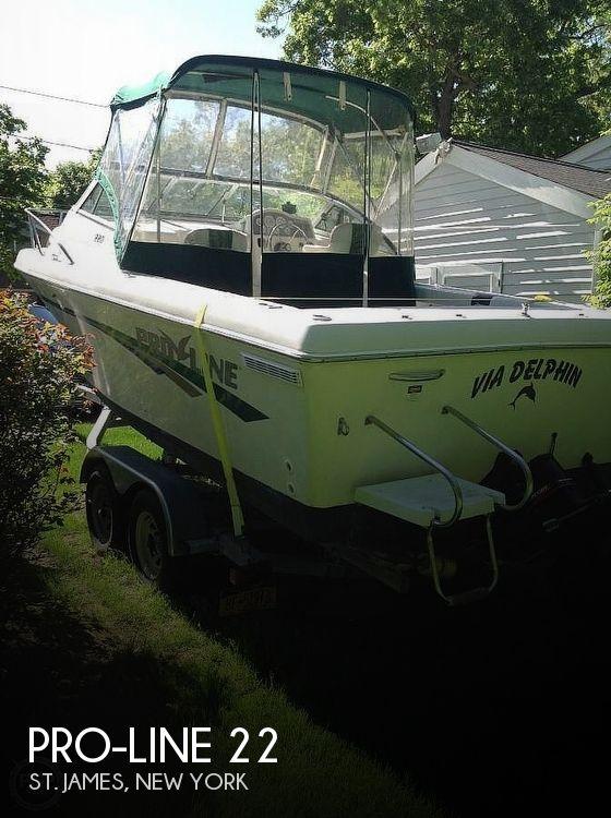 1997 Pro-Line 220 Cuddy Fish
