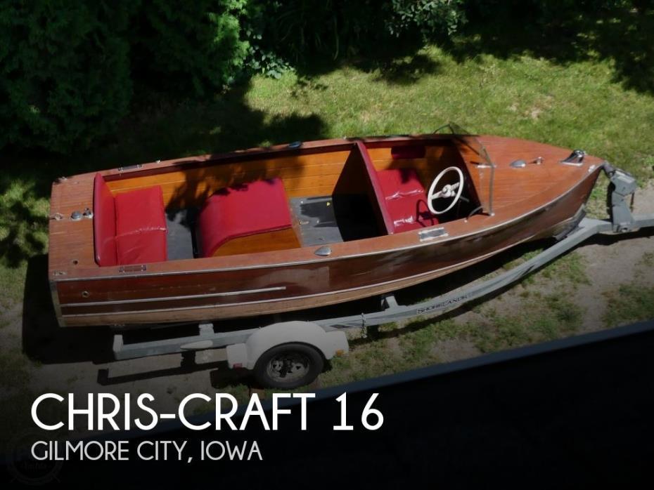 1949 Chris-Craft Sportsman 16
